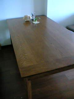 テーブルについて
